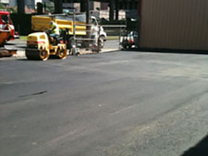 Paving a Parking Lot During 2